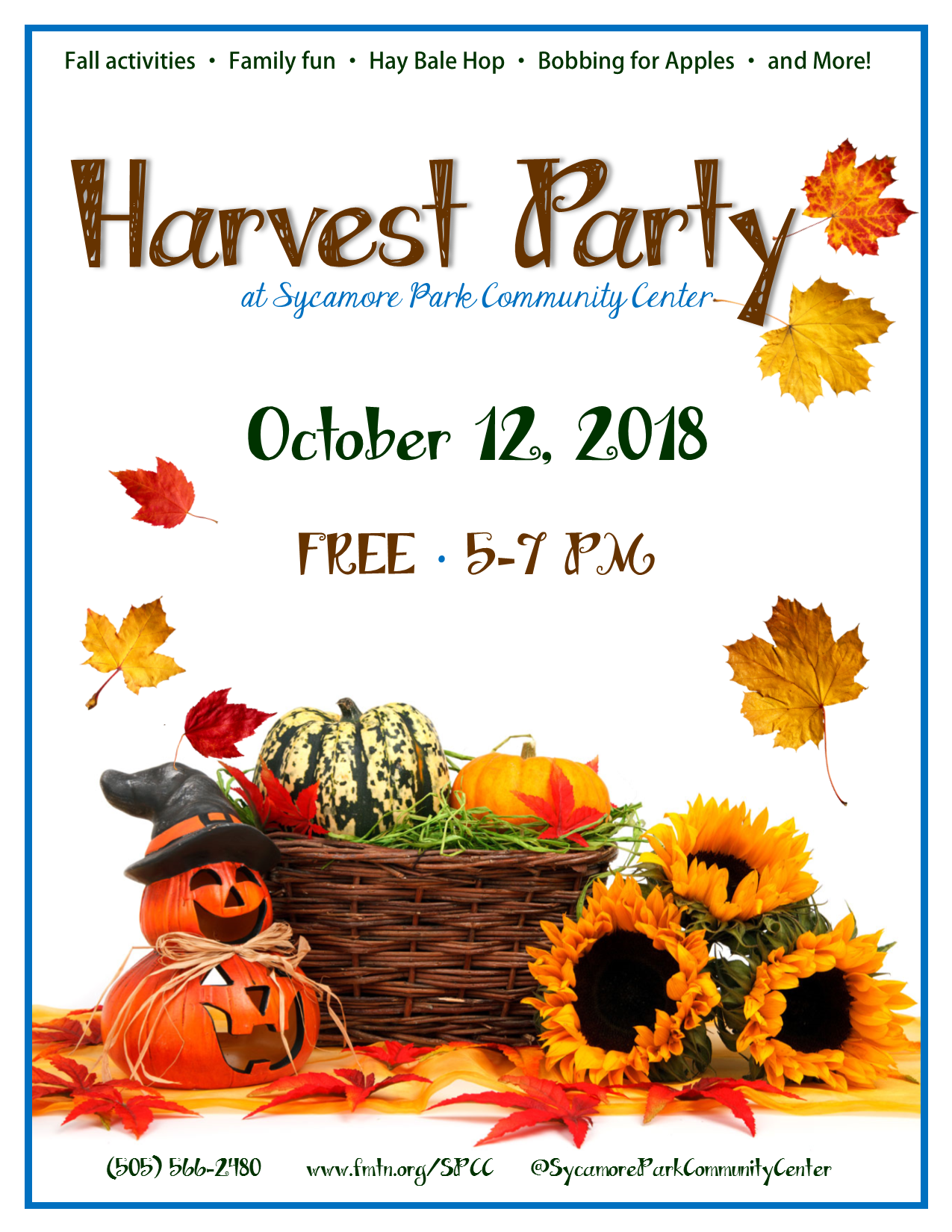 harvest-party-flyer