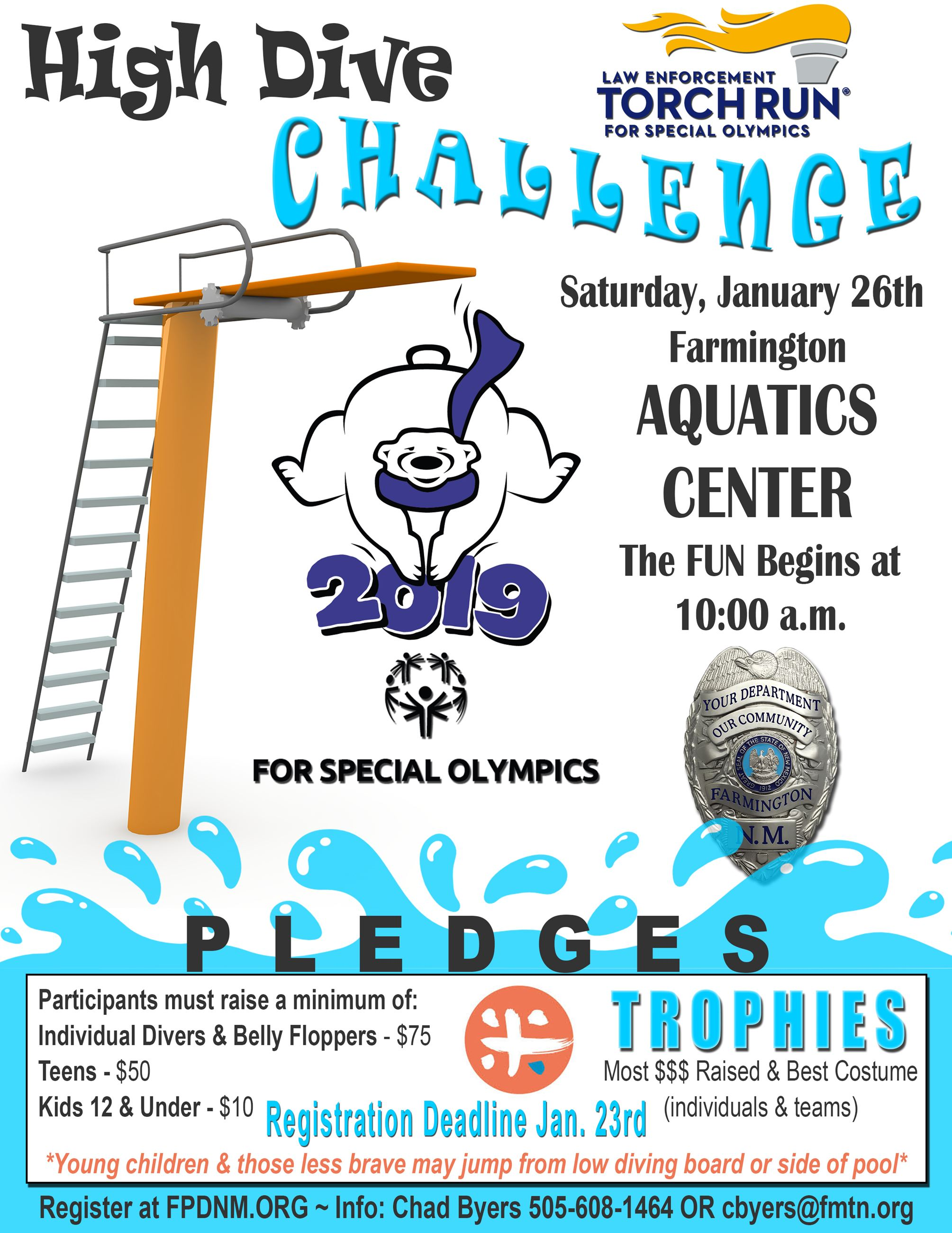 LETR High Dive Challenge Event