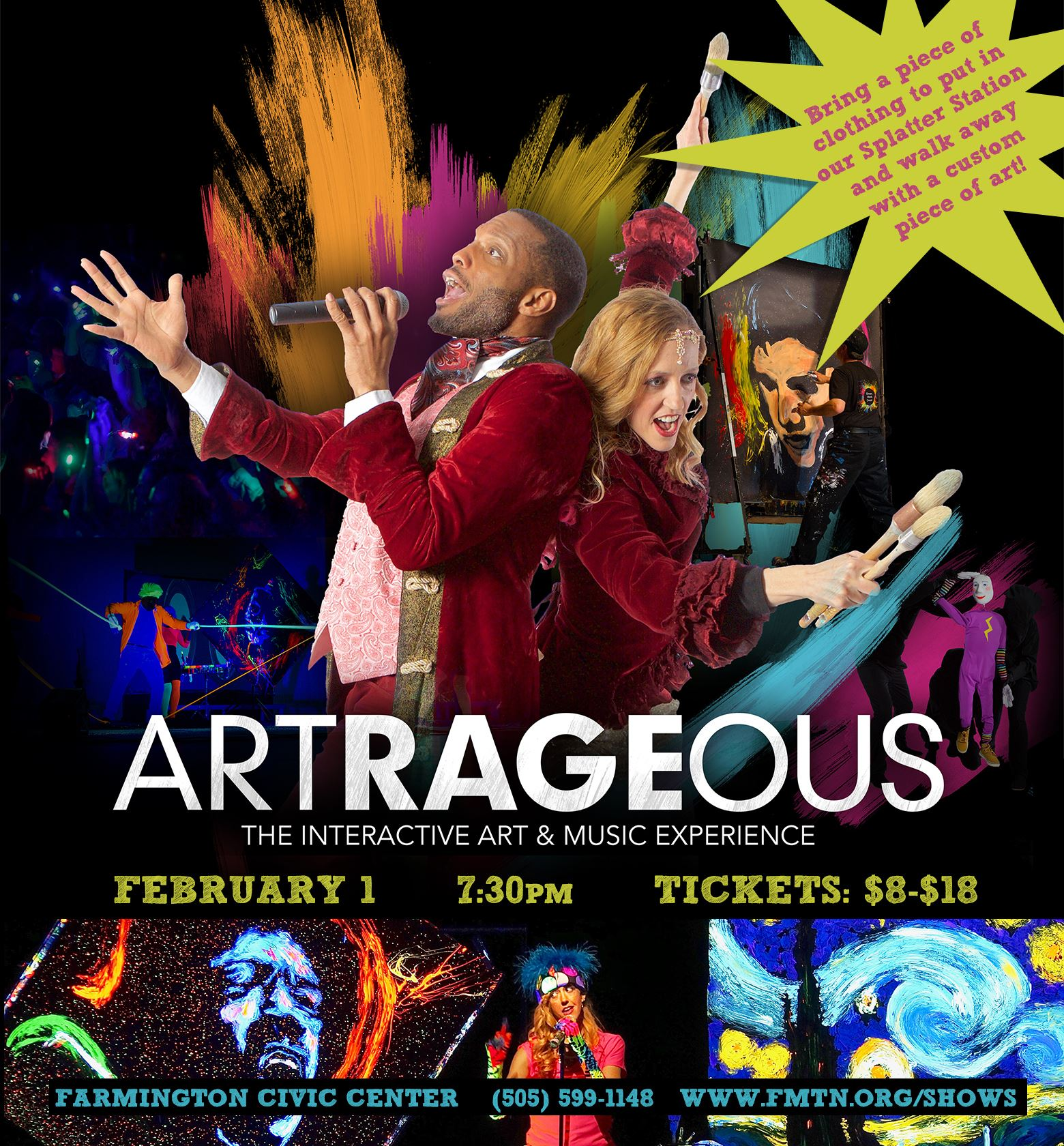 ARTrageous show at Farmington Civic Center